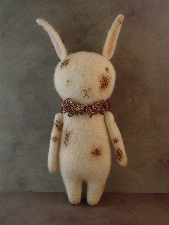 Felted Hare Thread Bears®