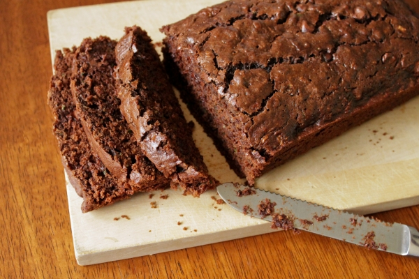 Chocolate Zucchini Loaf Cake by Thread Bears®