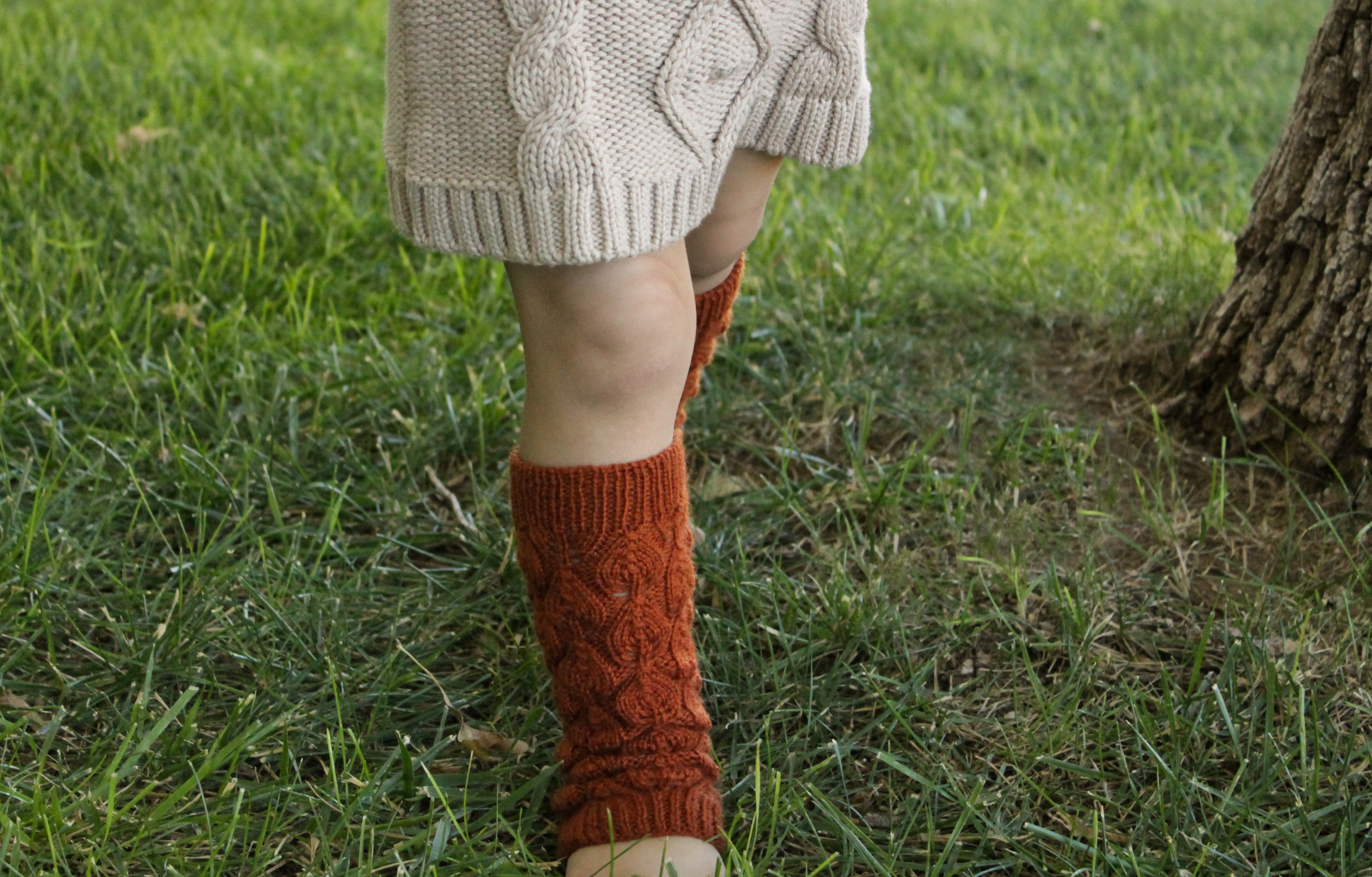 Leaf Collecting Leg Warmers Knitting Pattern now available! – out of ...