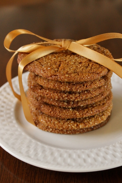 chewy molasses cookies, by Thread Bears®