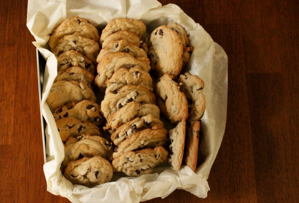 traditional chocolate chip cookies by Thread Bears®