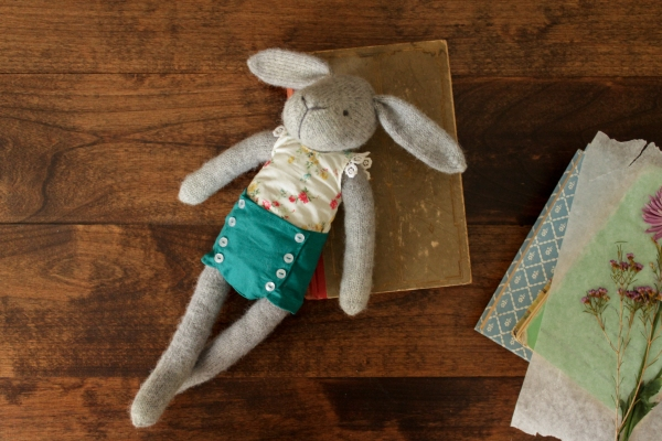 "Rhonda Potteet ""Claire the Hare"" doll"