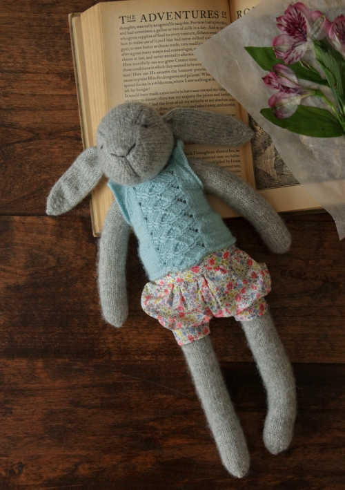 Rhonda Potteet Claire the Hare doll