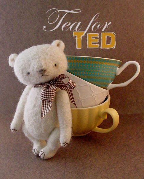 Tea for Ted Thread Teds by Thread Bears® for Out of the Thistle® crochet pdf pattern
