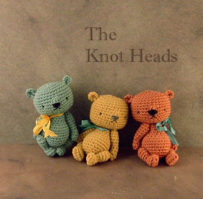 Out of the Thistle® Knot Head Thread Crochet Bears